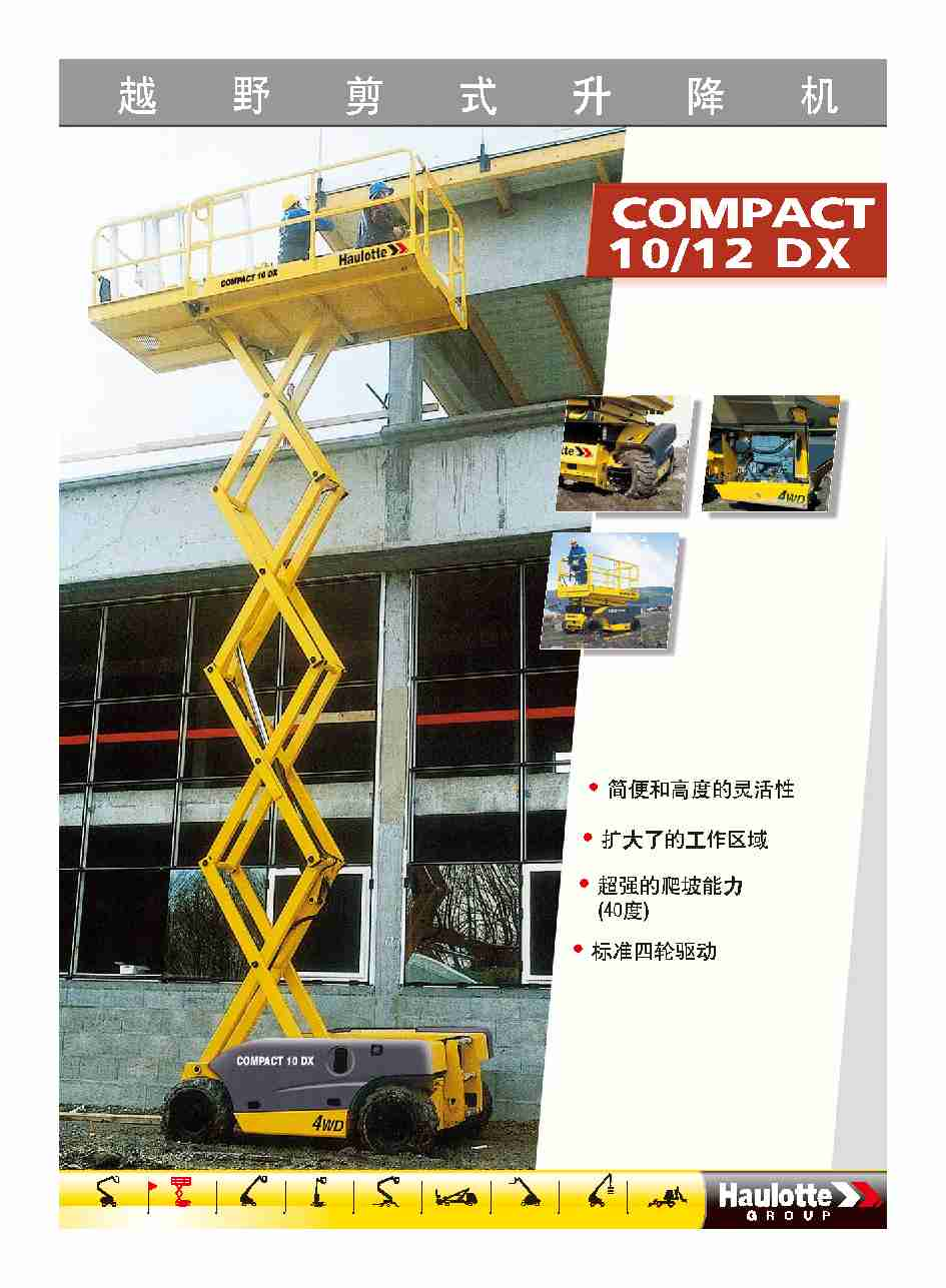 Scissor Lifts -10M